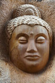 Buddha Old Carving — Stock Photo