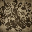 Old paper with floral pattern - Photo