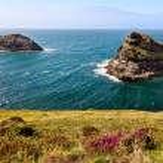 Coastline at Cornish coast near Boscastle, Cornwall, England — Stock Photo #10732248