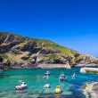 Harbour in fishing village Port Isaac, Cornwall, England — Stock Photo
