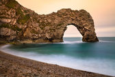 Durdle Door, Jurassic Coast, Dorset, England — Stock Photo