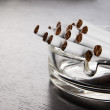 Ashtray and cigarettes — Stock Photo #8144573