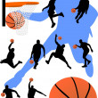 Vector de stock : Basketball