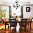 Dining room interior — Stock Photo #8910367