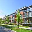 Stock Photo: Modern town houses