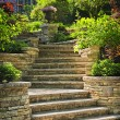 Stock Photo: Stone stairs landscaping