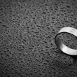 Stock Photo: Weeding ring