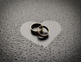 Love rings — Stock Photo
