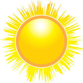 The Sun — Stock Vector