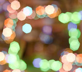 Bokeh frame — Stock Photo