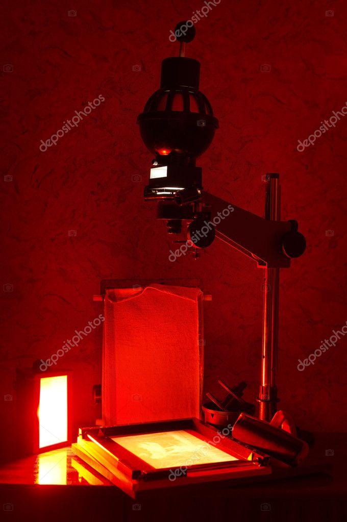 Chambre Noire Photographie : Impression de la chambre noire — photographie zakazpc