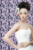 Bride portrait — Stock Photo