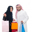 Stock Photo: Arab Couple shopping