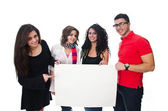 Young Arab students — Stock Photo