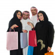 Arab couples shopping — Stock Photo #9550301