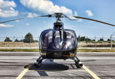 The Helicopter — Stock Photo