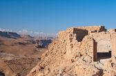 Masada fortress ruins — Stock Photo