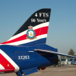 BAe Hawk tail — Stockfoto
