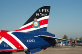 BAe Hawk tail — Foto Stock