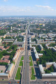 Zanevsky avenue w sankt petersburgu — Zdjęcie stockowe
