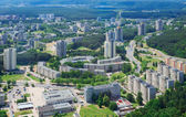 Birdseye view of Vilnius uptown — Stock Photo