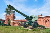 M1955 (D-20) gun-howitzer — 图库照片