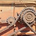 Fragment of the farming equipment — Stock Photo