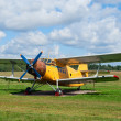Stock Photo: An-2 agricultural plane