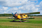An-2 agricultural plane — Stock Photo