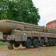 Stock Photo: Launcher vehicle of Topol-M complex