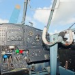 Stock Photo: An-2 plane cockpit