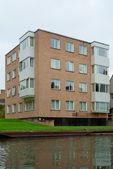 Dormitory in Cambridge university — Stock Photo