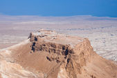 Masada fortress — Stock Photo