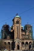 The Church of the Holy Marka.Belgrad.Serbiya — Stock Photo
