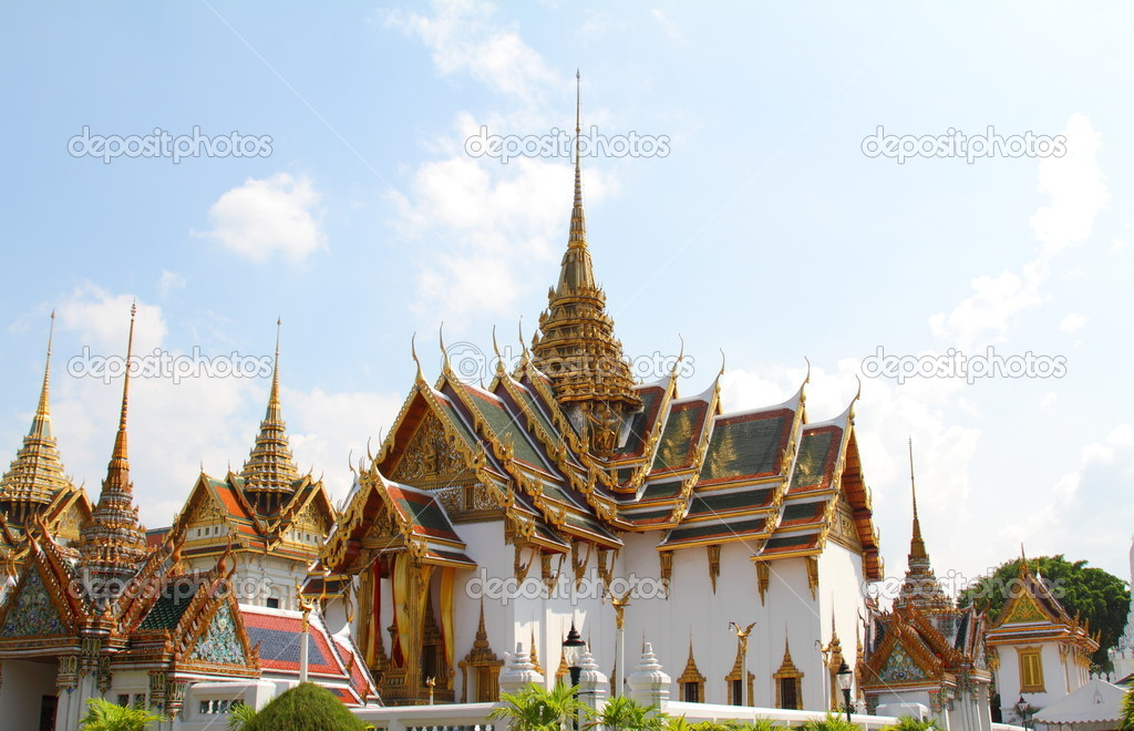 The Royal Palace. Bangkok, Thailand — Stock Photo #8496697