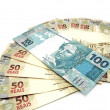 Money from Brazil - New currency design — Stock Photo #10126359