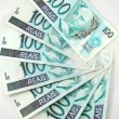 100 real banknote from brazil — Stock Photo