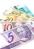 Brazylijskiej waluty — Zdjęcie stockowe