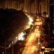 11-10-2009. During a blackout on the city of santos life continu — Stock Photo