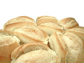 Group of french bread, a traditional bread from brazil — Stock Photo