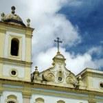 Detail of a colonial church in salvador, bahia, brazil — Stock Photo #10344112