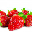 Spread strawberries — Stock Photo