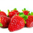 Stock Photo: Spread strawberries
