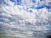 Beautiful sky full of clouds — Stock Photo