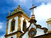 историческая церковь господа bonfim в городе сальвадор - бразилия — Стоковое фото