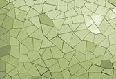 Ceramic mosaic wall — Stock Photo