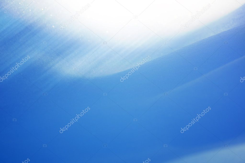Abstract background of blue snow — Stock Photo #8418754