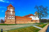 Mir Castle Complex — Stock Photo