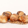 Pretzel rolls — Stock Photo