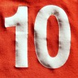 Stock Photo: Number 10